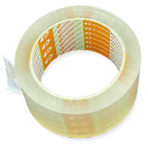 Paketklebeband PRINTATION 5066ST (50mmx66m) transparent, 56my, leise abrollend (VE=1 St.)